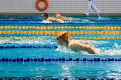 Swimming pool . Stock Photo