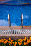 Swimming pools were beautifully Royalty Free Stock Photography