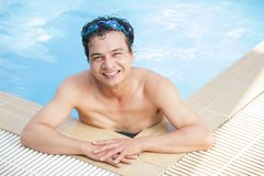 After swimming Royalty Free Stock Photo