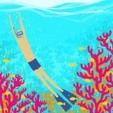 Swimming season are open! Stock Image