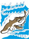 Shark vector illustration Stock Photo