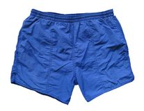 Swimming shorts - blue Stock Images
