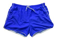 Swimming shorts - blue Royalty Free Stock Photography