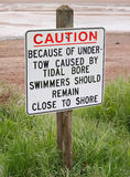 Swimming Sign Royalty Free Stock Image