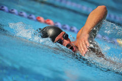Swimming - Sport. Sport man swimming in freestyle Stock Images