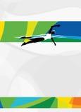 Swimming sport background Stock Photo