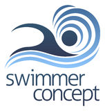 Swimming Swimmer Concept Royalty Free Stock Photography