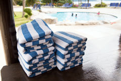 Swimming towel Royalty Free Stock Photo
