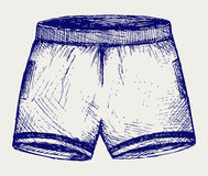 Swimming trunks Royalty Free Stock Photos