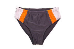 Swimming trunks. Beautiful  swimming trunks on a white background Stock Photos