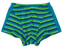 Swimming trunks isolated on white background. Stock Photos