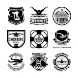 Swimming Vector Icons 32. Here is an awesome set of swimming badges that you are sure to find very useful. Hope you really enjoy using them Stock Images