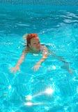 Swimming Woman Stock Image