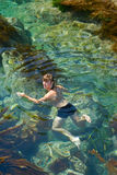 Swimming young man 13 Stock Photography
