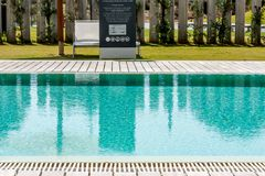 swimmingpool Στοκ φωτογραφία με δικαίωμα ελεύθερης χρήσης