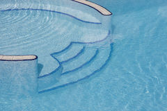 Swimmingpool stock image