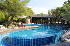 Swimmingpool. Stockfotografie