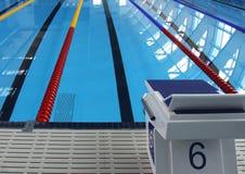 Swimmingpool stockfotografie