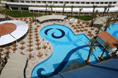 Swimmingpool. Lizenzfreies Stockfoto