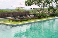 Swimmingpool Obrazy Royalty Free
