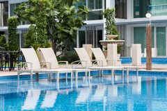 swimmingpool Imagens de Stock Royalty Free