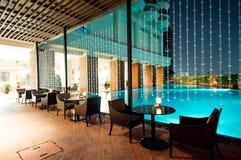 Swimmingpool, Bangkok Lizenzfreies Stockfoto