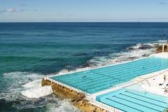 Swimmingpool in Bondi-Strand Stockfoto