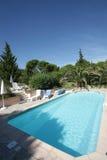 Swimmingpool de Provence Fotos de Stock Royalty Free