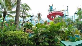 Swimmingpool der im Freien Tätigkeit Indonesien schön lizenzfreies stockfoto