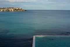 Swimmingpool im Meer Lizenzfreies Stockbild
