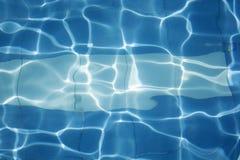 Swimmingpool-Wasser-Hintergrund (Vert) Lizenzfreies Stockbild