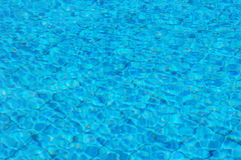 Swimmingpool water. Cool blue swimmingpool water stock photography