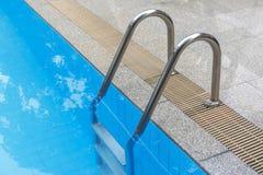 Swimmingpoolführer Stockbild