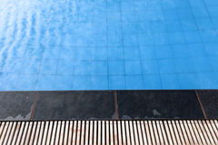 Swimmingpoolhintergrund Stockbild