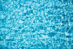 Swimmingpoolzusammenfassung Stockbild