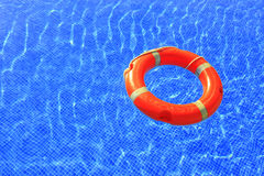Swimmingring in pool Royalty Free Stock Photography