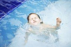 swims бассеина ребенка Стоковые Изображения RF
