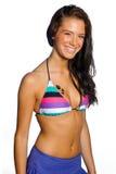 swimsuit девушки предназначенный для подростков Стоковые Фотографии RF