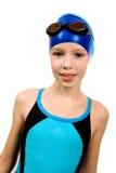 swimsuit девушки Стоковая Фотография