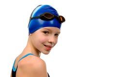 swimsuit девушки Стоковые Фото