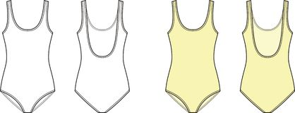 swimsuit Immagini Stock