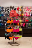 Swimsuit fashion store new collection Royalty Free Stock Photo