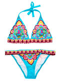 Swimsuit with pattern Royalty Free Stock Images