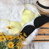 Swimsuits on the background of fur royalty free stock image
