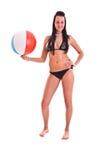 swimwear γυναίκα Στοκ Εικόνα