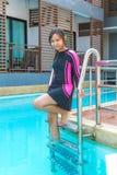 Swimwear на ослабляет время Стоковые Фото