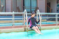 Swimwear на ослабляет время Стоковые Фотографии RF
