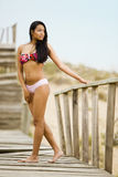 swimwear девушки Стоковое Изображение