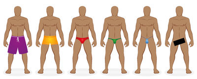 Swimwear Bathing Dress Code Men Naked Royalty Free Stock Photo
