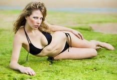 Swimwear girl Royalty Free Stock Photography